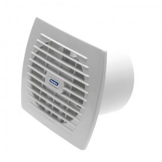 KANLUX 70943 | Kanlux csőventilátor Ø120 150m3/h téglalap időkapcsoló zsaluzat nélkül, hőbiztosíték IP24 UV fehér