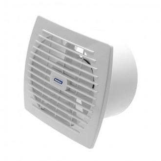 KANLUX 70946 | Kanlux csőventilátor Ø150 200m3/h téglalap páraérzékelő, időkapcsoló zsaluzat nélkül, hőbiztosíték IP24 UV fehér