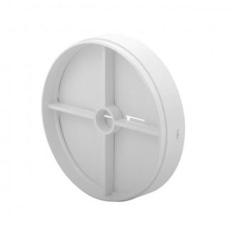 KANLUX 70961 | Kanlux pillangószelep Ø100 csőventilátorhoz kerek UV fehér