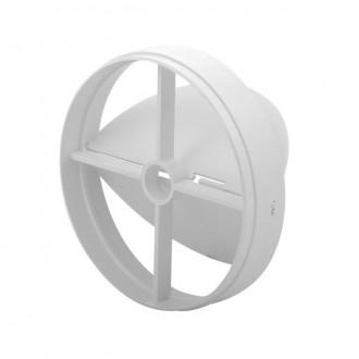 KANLUX 70962 | Kanlux pillangószelep Ø120 csőventilátorhoz kerek UV fehér