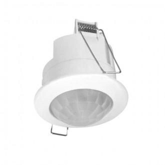 KANLUX 7691 | Kanlux mozgásérzékelő PIR 360° beépíthető kerek fehér