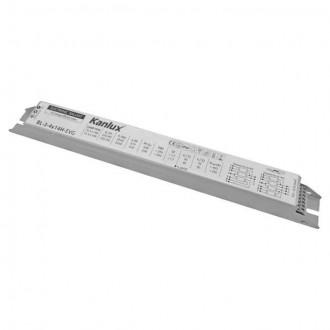 KANLUX 8240 | Kanlux működtető egység 3x14W / 4x14W T5/T8 elektronikus előtét téglalap fehér