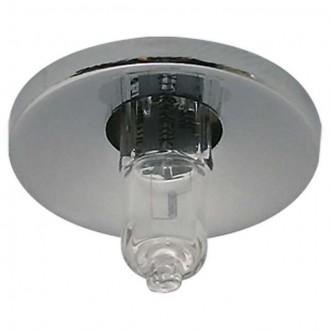 KANLUX 825 | Else Kanlux beépíthető lámpa kerek Ø30mm 1x G4 matt króm