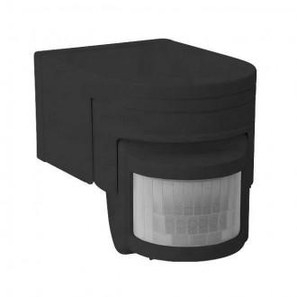 KANLUX 8391 | Kanlux mozgásérzékelő PIR 160° elforgatható alkatrészek IP44 fekete