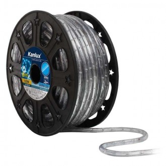 KANLUX 8631 | Givro Kanlux fénytömlő kék fénykábel - 50 m 25x LED IP44 kék
