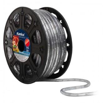 KANLUX 8632 | Givro Kanlux fénytömlő piros fénykábel - 50 m 25x LED IP44 piros