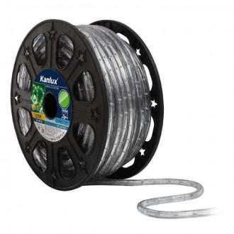 KANLUX 8633 | Givro Kanlux fénytömlő zöld fénykábel - 50 m 25x LED IP44 zöld