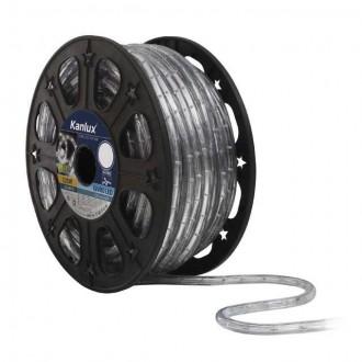 KANLUX 8642 | Givro Kanlux fénytömlő meleg fehér fénykábel - 50 m 25x LED IP44 meleg fehér