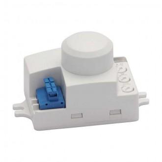 KANLUX 8822 | Kanlux mozgásérzékelő MW 360° téglalap fehér