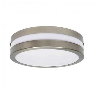 KANLUX 8980 | Jurba Kanlux fali, mennyezeti lámpa kerek 2x E27 IP44 IK10 UV matt króm, fehér