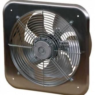 KANLUX C300 | Kanlux ipari ventilátor Ø320 1520m3/h négyzet IP24 UV inox