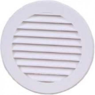KANLUX VR100 | Kanlux szellőzőrács Ø100 csőventilátorhoz kerek rovarháló UV fehér