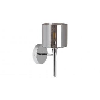 LAMPADORO 81011 | Adriana_LD Lampadoro falikar lámpa 1x E14 króm, füst