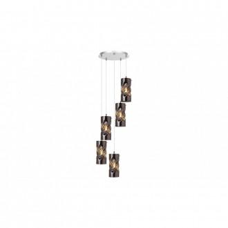 LAMPADORO 81034 | Gina_LD Lampadoro függeszték lámpa 5x E27 króm