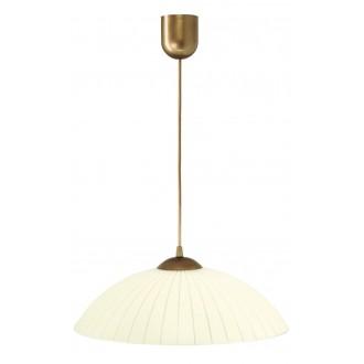 LAMPEX 013/B | Lampex-Pendant Lampex függeszték lámpa 1x E27 patina, krémszín