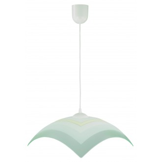 LAMPEX 013/I | Lampex-Pendant Lampex függeszték lámpa 1x E27 fehér, szürke