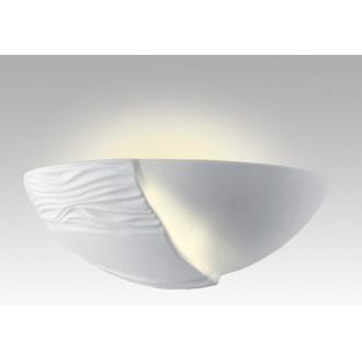 LAMPEX 014/B | Ceramic Lampex fali lámpa 1x E27 fehér