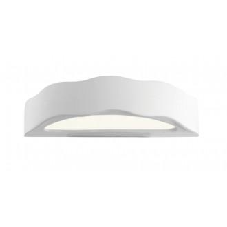 LAMPEX 014/D | Ceramic Lampex fali lámpa 1x E27 fehér