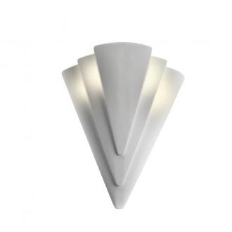 LAMPEX 014/H | Ceramic Lampex fali lámpa 1x E27 fehér