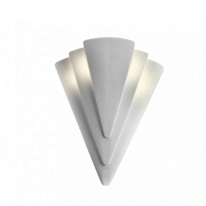LAMPEX 014/H   Ceramic Lampex fali lámpa 1x E27 fehér