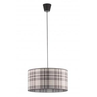 LAMPEX 019/A | Cyntia-LA Lampex függeszték lámpa 1x E27 fekete, fehér, barna