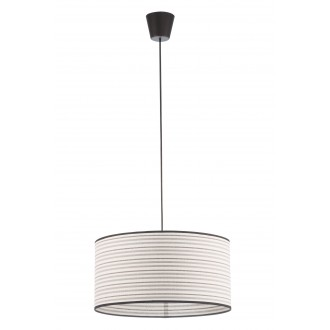 LAMPEX 019/D | Cyntia-LA Lampex függeszték lámpa 1x E27 fekete, fehér, barna