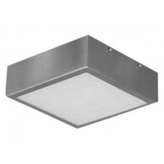 LAMPEX 044/1W | Ventana Lampex mennyezeti lámpa 1x E27 wenge, fehér