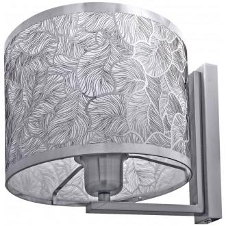 LAMPEX 132/K | Brillante Lampex falikar lámpa 1x E27 króm