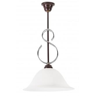 LAMPEX 265/Z | Lampex-Pendant Lampex függeszték lámpa 1x E27 wenge, alabástrom
