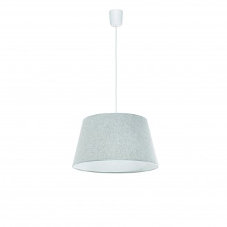 LAMPEX 456/D | Lampex-Pendant Lampex függeszték lámpa 1x E27 szürke, fehér