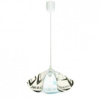 LAMPEX 465/B | Lampex-Pendant Lampex függeszték lámpa 1x E27 fehér, színes