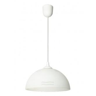 LAMPEX 588/E | Lampex-Pendant Lampex függeszték lámpa 1x E27 fehér