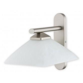 LEMIR 970/K1 SAT | Krzyzak Lemir falikar lámpa 1x E27 matt króm, fehér