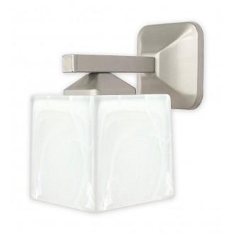 LEMIR O1060/K1 SAT | KostkaSAT Lemir falikar lámpa 1x E27 matt króm, szatén