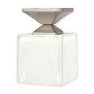 LEMIR O1061/W1 SAT | KostkaSAT Lemir mennyezeti lámpa 1x E27 matt króm, szatén
