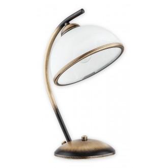LEMIR O2238 L1 PAT   Altea2 Lemir asztali lámpa 35cm 1x E27 patina
