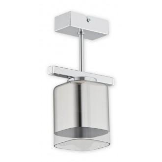 LEMIR O2311 P1 CH | Savia Lemir mennyezeti lámpa 1x E27 króm, átlátszó