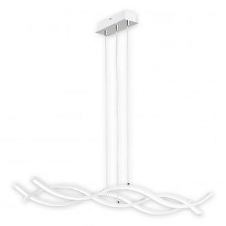 LEMIR O2513 W3 BIA-NW | Linea_LED Lemir függeszték lámpa 1x LED 5760lm 4000K króm, fehér