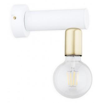 LEMIR O2820 K1 BIA | Foco Lemir falikar lámpa 1x E27 matt fehér, patina