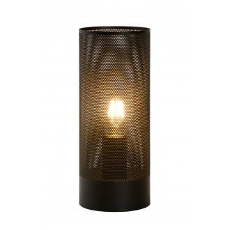 LUCIDE 03516/01/30 | Beli Lucide asztali lámpa 30cm vezeték kapcsoló 1x E27 fekete