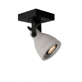LUCIDE 05910/05/30 | Concri Lucide spot lámpa elforgatható alkatrészek 1x GU10 320lm 3000K fekete, szürke