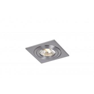 LUCIDE 10954/01/12 | Cos Lucide beépíthető lámpa elforgatható fényforrás 100x100mm 1x GU10 króm