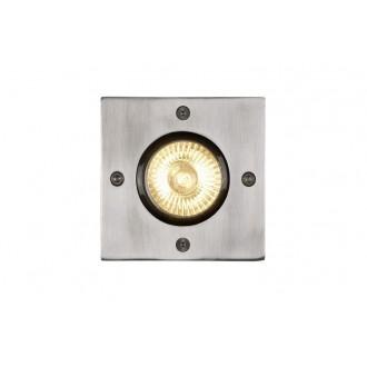 LUCIDE 11800/01/12 | Biltin Lucide beépíthető lámpa 108x108mm 1x GU10 IP67 króm