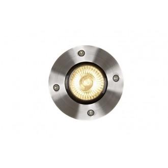 LUCIDE 11801/01/12 | Biltin Lucide beépíthető lámpa Ø108mm 108x108mm 1x GU10 IP67 króm