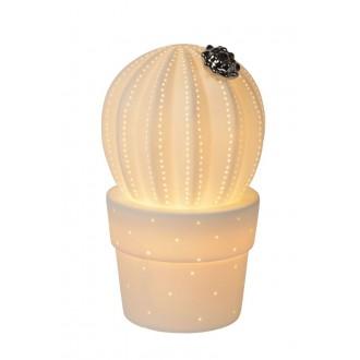 LUCIDE 13524/01/31 | Cactus Lucide asztali lámpa 22,7cm 1x E14 fehér