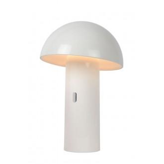 LUCIDE 15599/06/31 | Fungo Lucide asztali lámpa 25,5cm 1x LED 3000K fehér