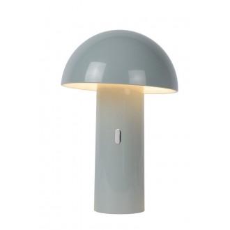 LUCIDE 15599/06/36 | Fungo Lucide asztali lámpa 25,5cm 1x LED 3000K szürke