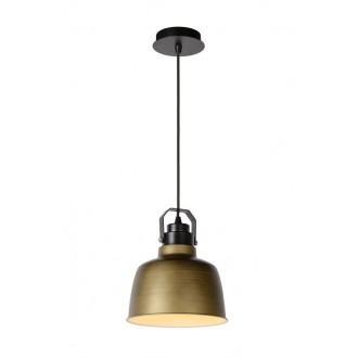 LUCIDE 21413/21/03 | Naut Lucide függeszték lámpa rövidíthető vezeték 1x E27 fekete, bronz
