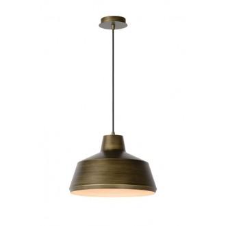 LUCIDE 21414/35/03 | Naut Lucide függeszték lámpa rövidíthető vezeték 1x E27 fekete, bronz
