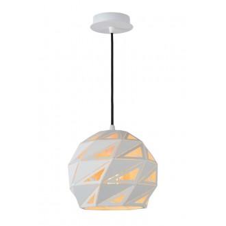 LUCIDE 21415/25/31 | Malunga Lucide függeszték lámpa rövidíthető vezeték 1x E27 fehér, arany